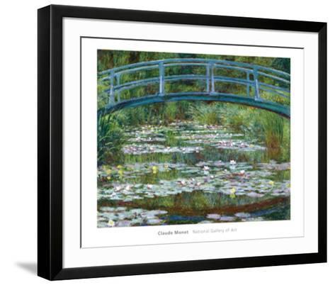 The Japanese Footbridge, c.1899-Claude Monet-Framed Art Print