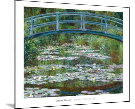 The Japanese Footbridge, c.1899-Claude Monet-Mounted Art Print