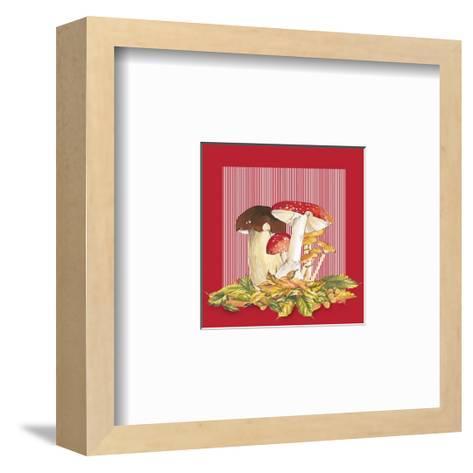 Mushrooms II--Framed Art Print