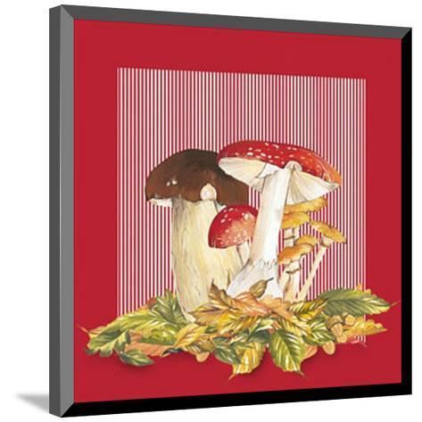 Mushrooms II--Mounted Art Print