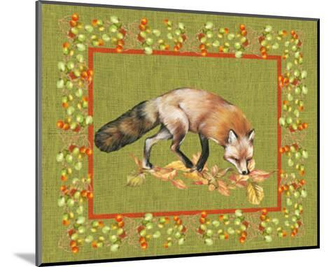 Nice Animals Fox--Mounted Art Print