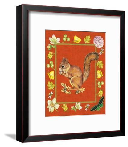 Nice Animals Chipmunks--Framed Art Print
