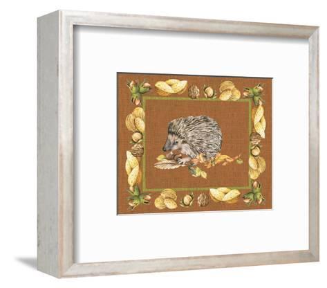 Nice Animals Hedgehog--Framed Art Print