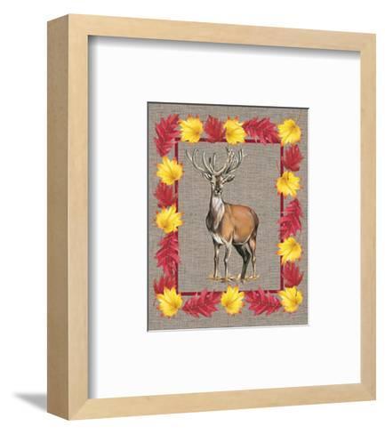 Nice Animals Deer--Framed Art Print