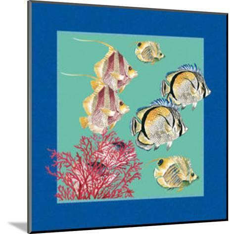 Fishes & Shells I--Mounted Art Print