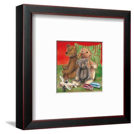 Kids Teddy Bears II--Framed Art Print