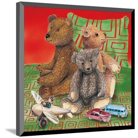 Kids Teddy Bears II--Mounted Art Print