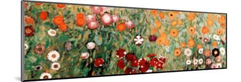 Flowery Garden Detail-Gustav Klimt-Mounted Art Print