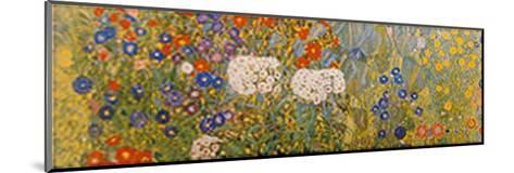 Country Garden with Sunflowers Detail-Gustav Klimt-Mounted Art Print
