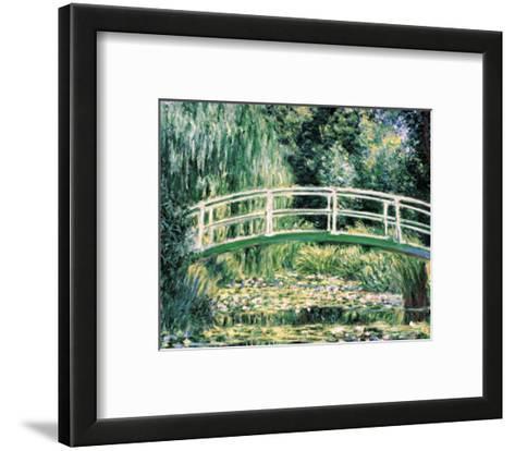 White Water Lilies-Claude Monet-Framed Art Print