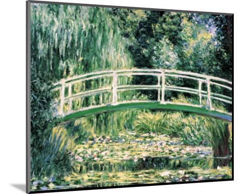 White Water Lilies-Claude Monet-Mounted Art Print