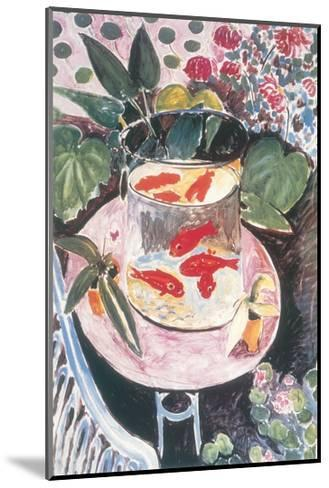 Goldfish-Henri Matisse-Mounted Art Print