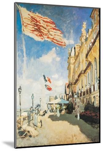 The Hotel of the Roches Noires-Claude Monet-Mounted Art Print