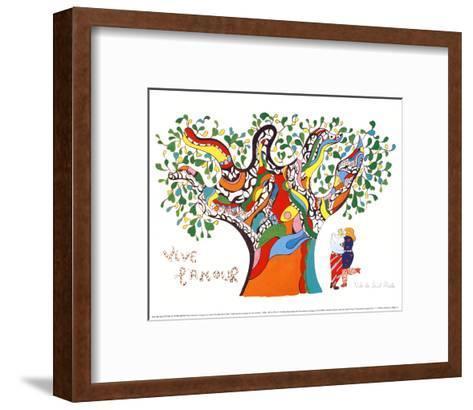 Long Live Love-Niki De Saint Phalle-Framed Art Print