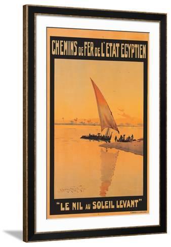 Le Nil Au Soleil Levant-M^ Tamplough-Framed Art Print