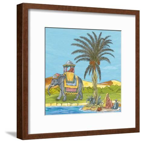 Arabian V--Framed Art Print