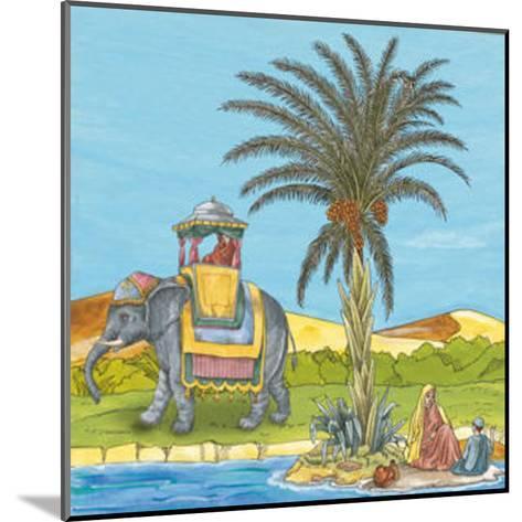 Arabian V--Mounted Art Print
