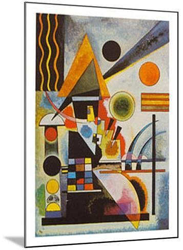 Balancement-Wassily Kandinsky-Mounted Art Print