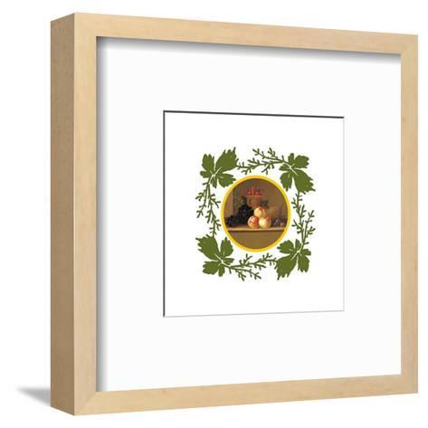 Antique Fruits IV--Framed Art Print