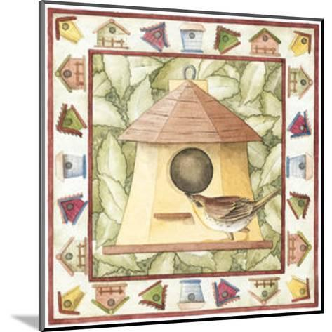 Kids Birdhouses--Mounted Art Print