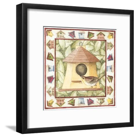 Kids Birdhouses--Framed Art Print
