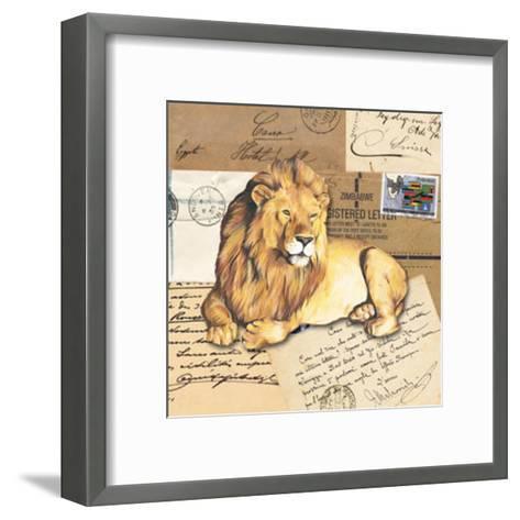 Africa Lions--Framed Art Print