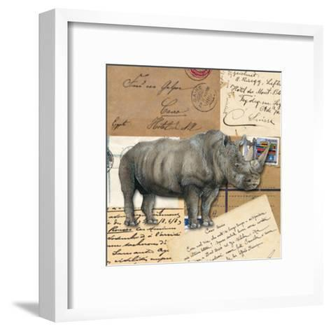 Africa Rhinoceros--Framed Art Print