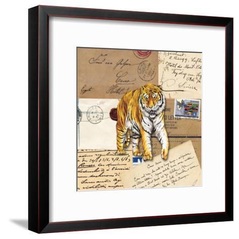 Africa Tigers--Framed Art Print