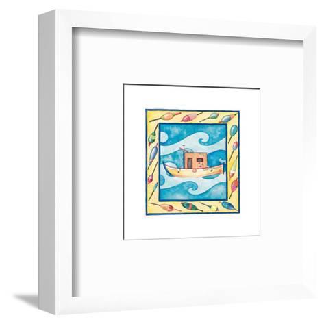 Kids Boats--Framed Art Print