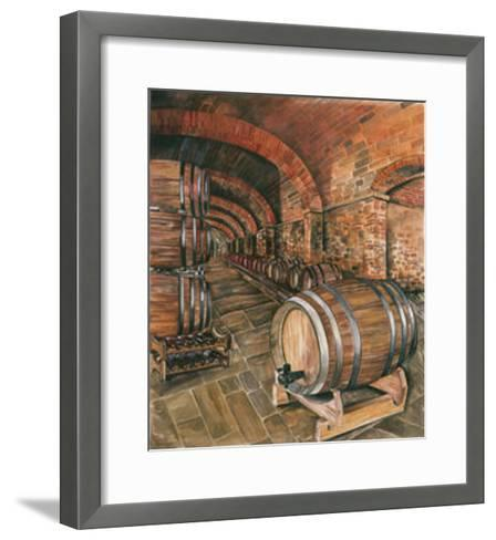Wine Cellar no. 2--Framed Art Print
