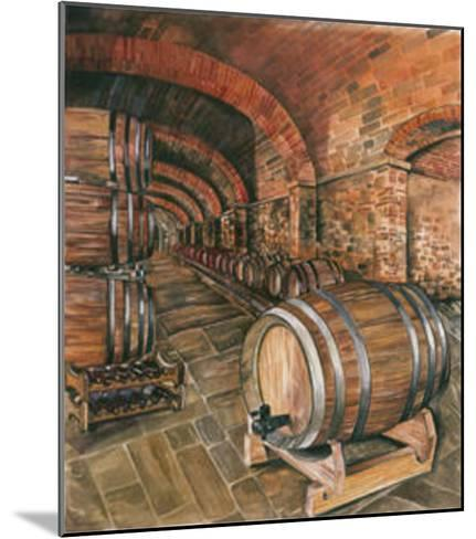 Wine Cellar no. 2--Mounted Art Print