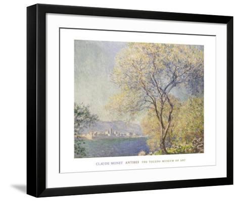 Antibes,, c.1888-Claude Monet-Framed Art Print