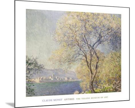 Antibes,, c.1888-Claude Monet-Mounted Art Print