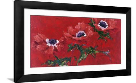 Red of the Corolla-Charles Belle-Framed Art Print