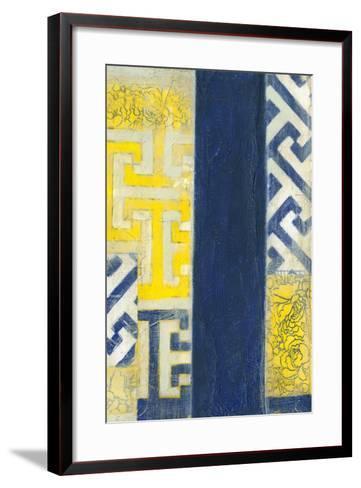 Interwoven II-Jennifer Goldberger-Framed Art Print