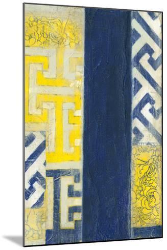Interwoven II-Jennifer Goldberger-Mounted Giclee Print