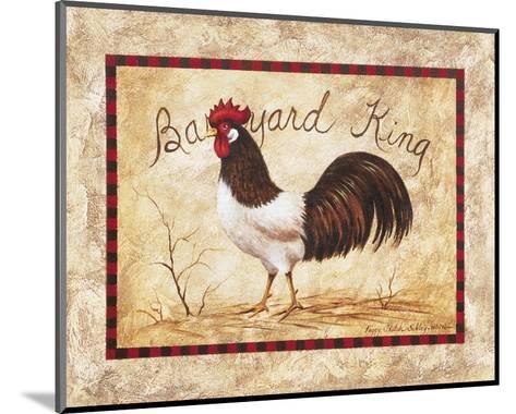 Barnyard King-Peggy Sibley-Mounted Art Print