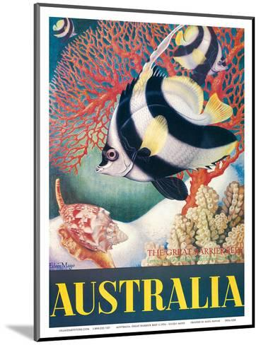 Australia, Great Barrier Reef c.1956-Eileen Mayo-Mounted Art Print