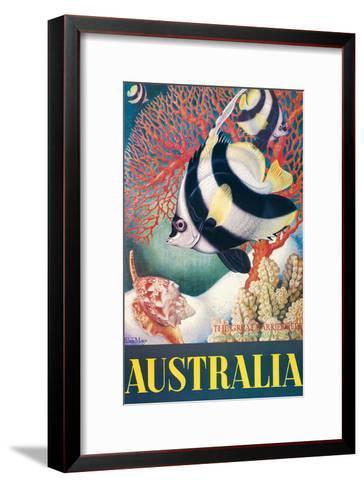 Australia, Great Barrier Reef c.1956-Eileen Mayo-Framed Art Print