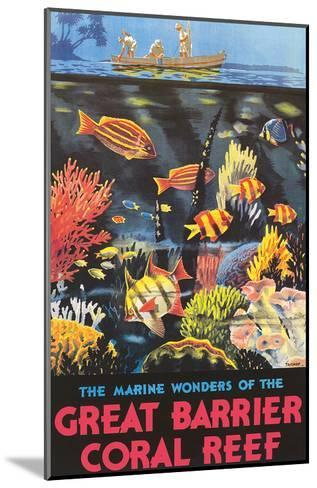 Great Barrier Coral Reef c.1933-Frederick Phillips-Mounted Art Print