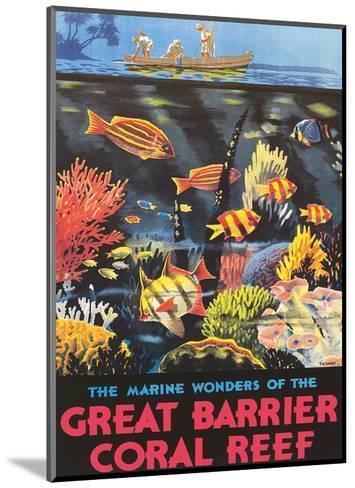Great Barrier Coral Reef c.1933-Frederick Phillips-Mounted Giclee Print