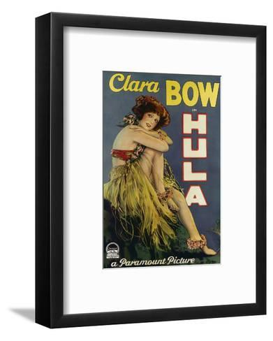 Clara Bow Hula, Paramount Picture c.1927--Framed Art Print