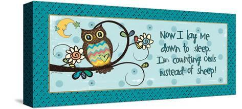 Counting Owls-Jo Moulton-Stretched Canvas Print