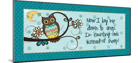 Counting Owls-Jo Moulton-Mounted Art Print