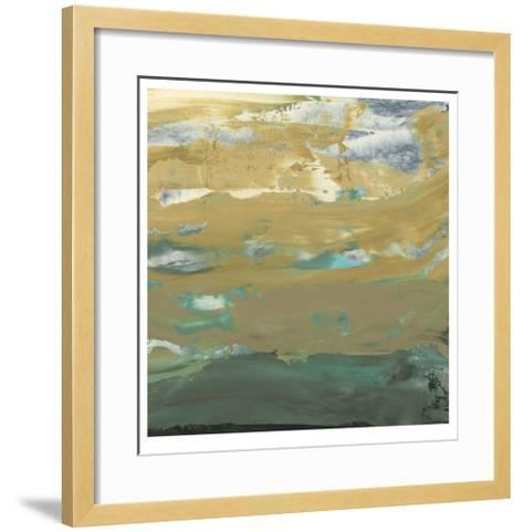 Green Water's Edge IV-Alicia Ludwig-Framed Art Print