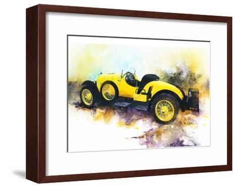 '23 Kissed Speedster-Bruce White-Framed Art Print