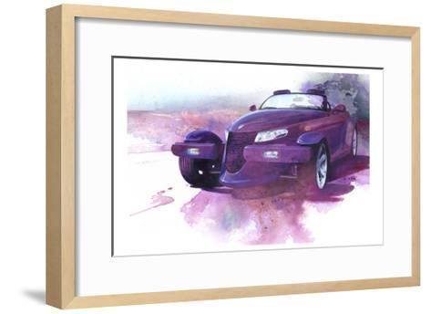 '99 Prowler-Bruce White-Framed Art Print