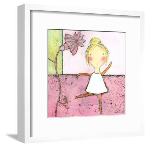 Pink Ballerina-Carla Sonheim-Framed Art Print