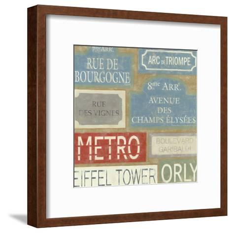 Tour of Paris-Chariklia Zarris-Framed Art Print