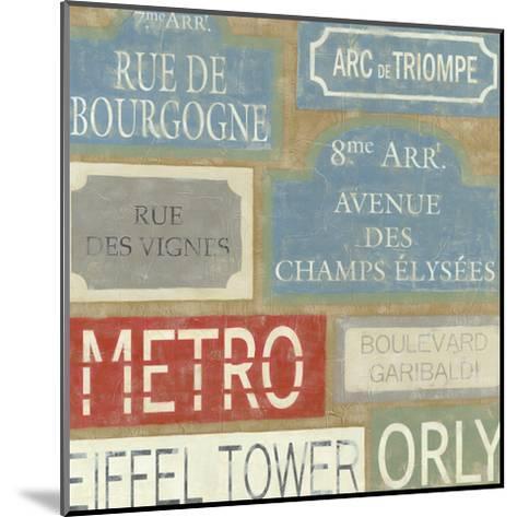 Tour of Paris-Chariklia Zarris-Mounted Art Print